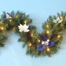 Lighted Christmas Garland