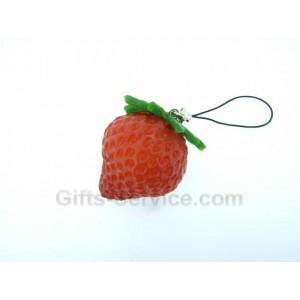 Erdbeere Handykette