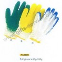 Coated Cotton Gloves