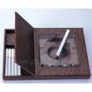 Leather Cigarette Box